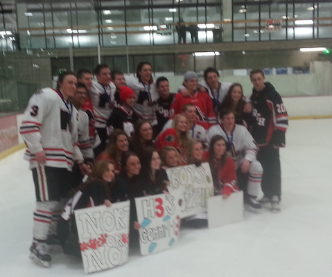 Lakeville North Boys' Hockey headed back to the state tournament