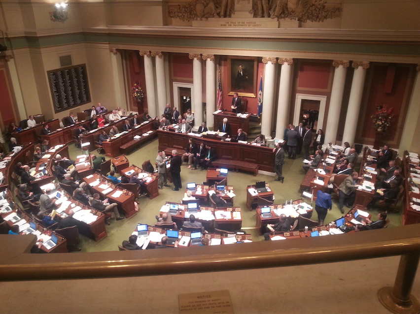 Lakeville Rep passes first bill