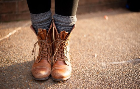 Combat boots among fall fashion trends