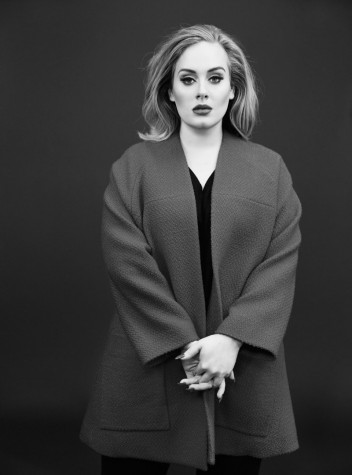 The cover of Time magazine's December issue featured Adele