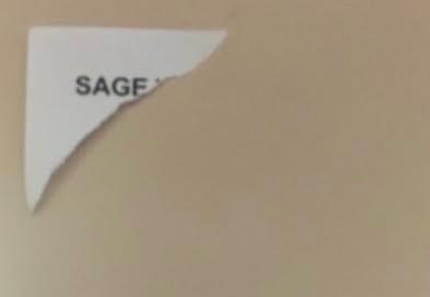 Unidentified individuals take down SAGE posters