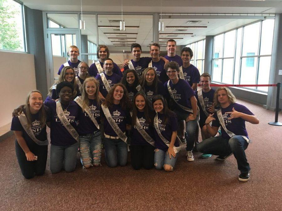 The 2016 LNHS Homecoming court