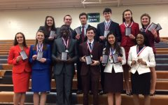 Record-breaking number of LNHS Speech team qualifies for national tournament