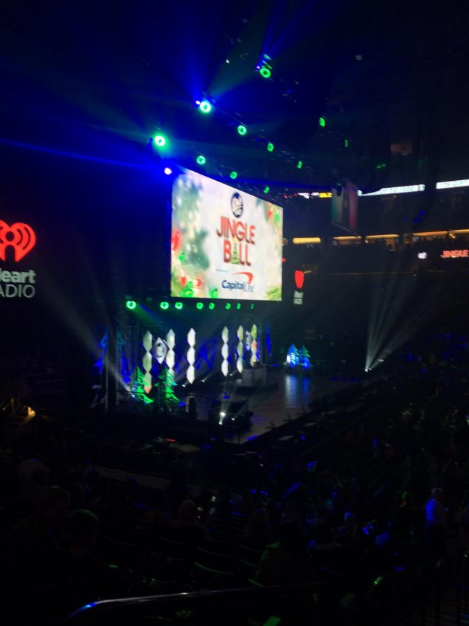 Jingle Ball in St Paul's Xcel Energy Center.